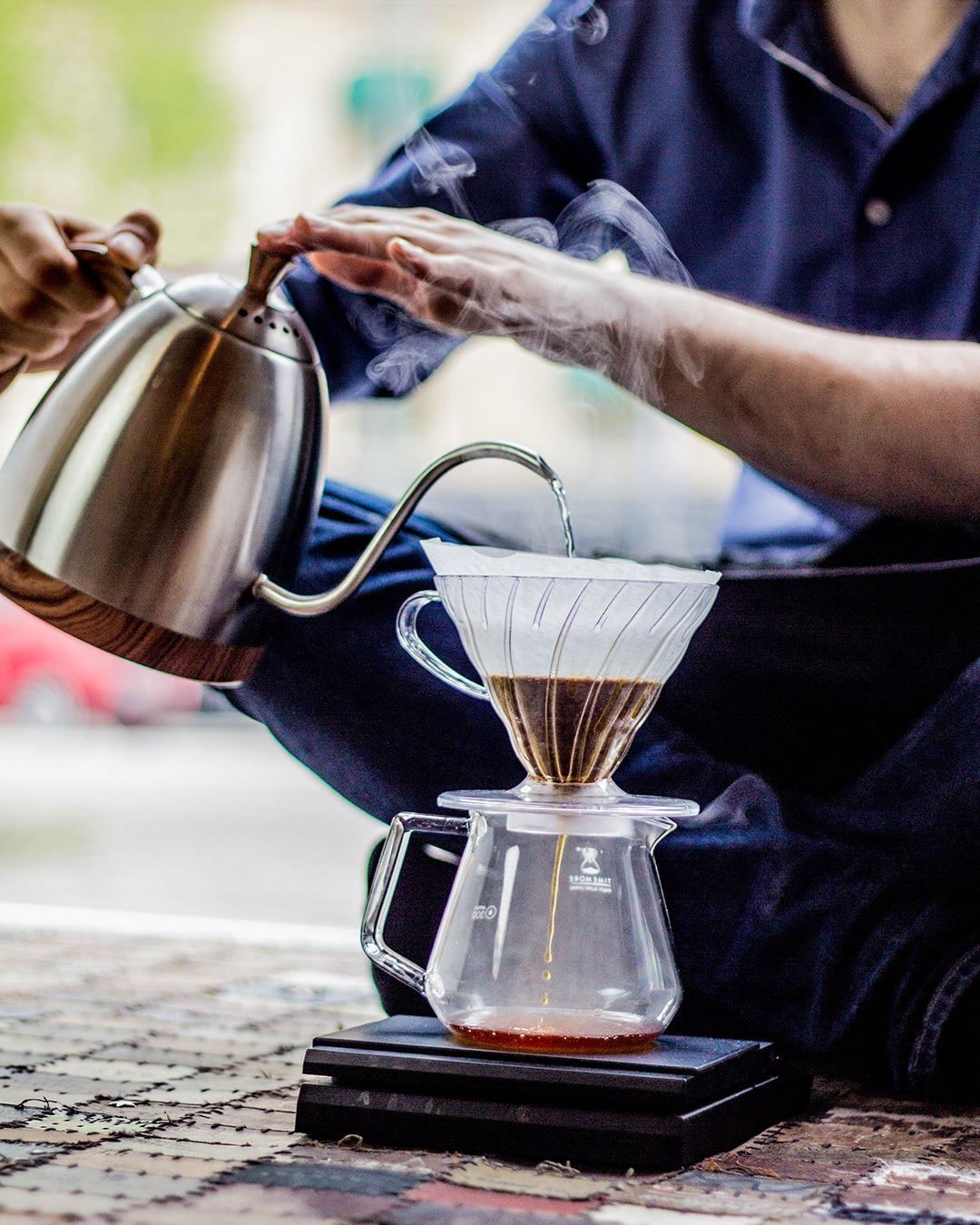 Filterkaffe, Droppkaffe, Pour Over, Handbrygg, Hario V60