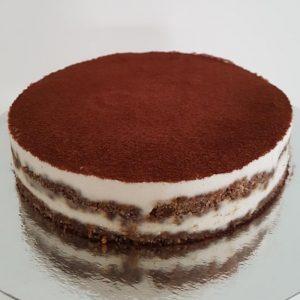 Raw Vegansk Tiramisu Cheesecake Tårta Göteborg