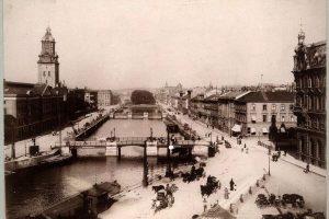 Göteborg Södra Hamngatan 1880-talet